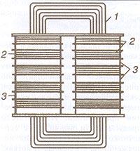 Схема трансформатора Гопкинсов